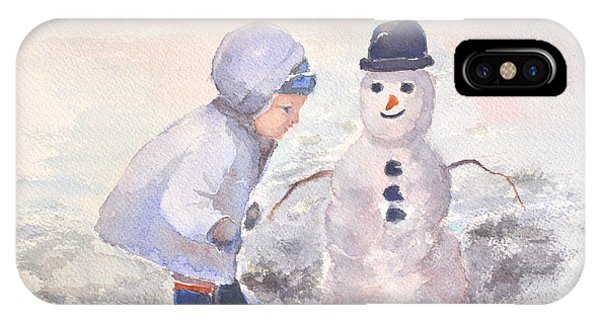 First Snowman IPhone Case