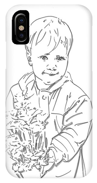 First Time Growing Strawberries  IPhone Case