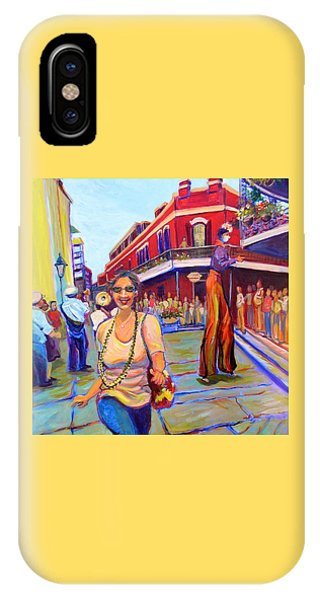 First Trip To New Orleans IPhone Case