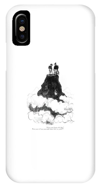 First You Forget The ?ag! Now You Tell IPhone Case