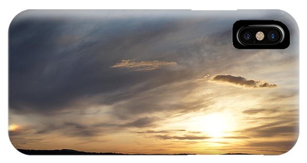 Firth Of Forth In The Sunset IPhone Case