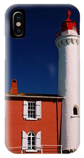 Fisgard Lighthouse IPhone Case