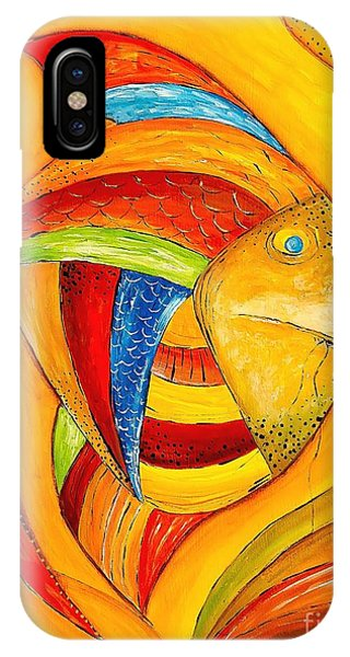 Fish 428-08-13 Marucii IPhone Case