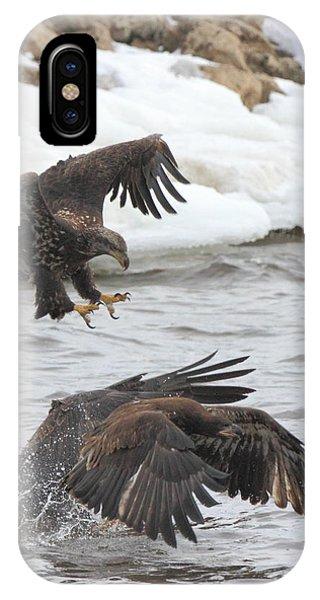 Fish Fight IPhone Case