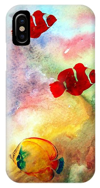 Fish In The Sea IPhone Case