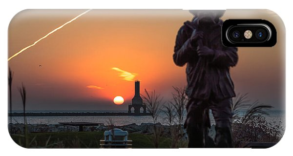 Fisherman Sunrise IPhone Case