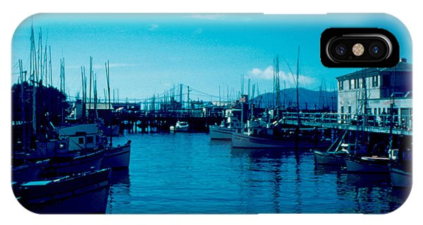 Fisherman's Wharf 1955 Phone Case by Cumberland Warden