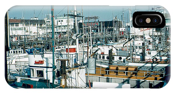 Fisherman's Wharf 1956 Phone Case by Cumberland Warden