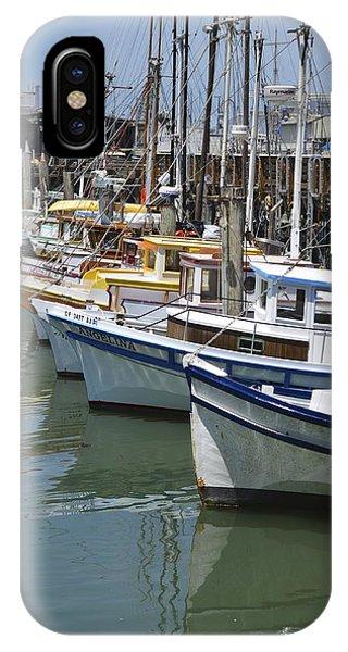 Fishermans Wharf IPhone Case