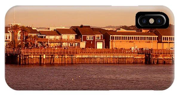 Fisherman's Wharf IPhone Case