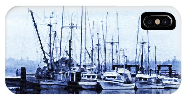 Fishers' Wharf IPhone Case