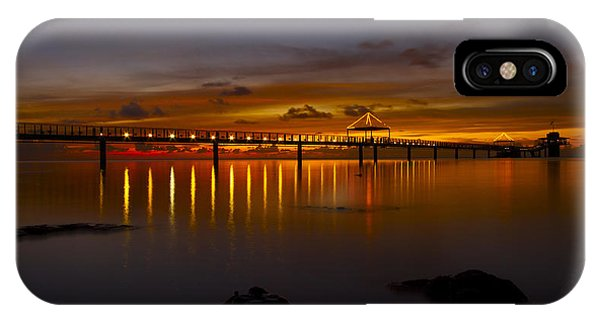 Fisheye Pier  IPhone Case