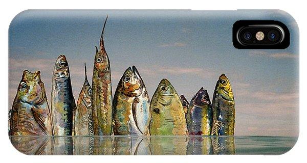 Lure iPhone Case - Fishhattan by Juan  Bosco