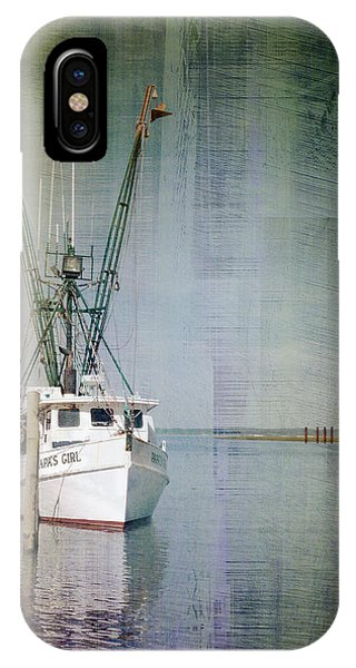 Fishing Boat In Chincoteague IPhone Case