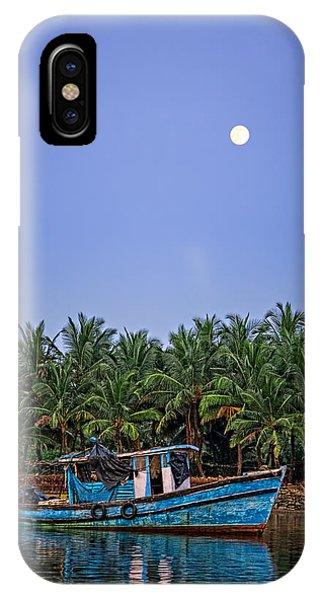 Fishing Boat In Goa IPhone Case