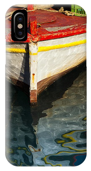 Fishing Boat In Greece IPhone Case