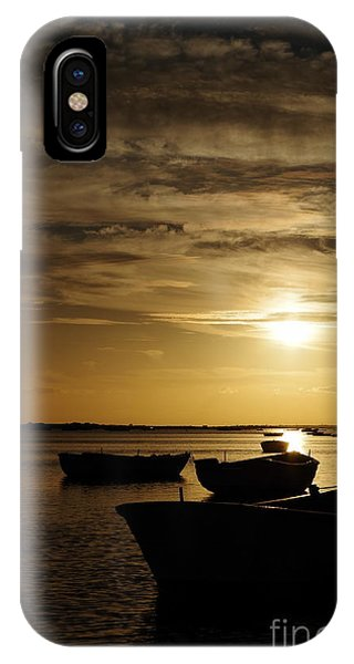 Fishing Boats In Cacela Velha IPhone Case