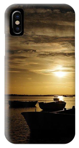 Fishing Boats In Cacela Velha IPhone Case