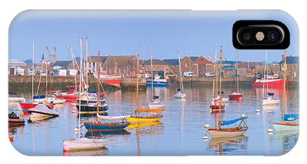 Fishing Boats In The Howth Marina IPhone Case