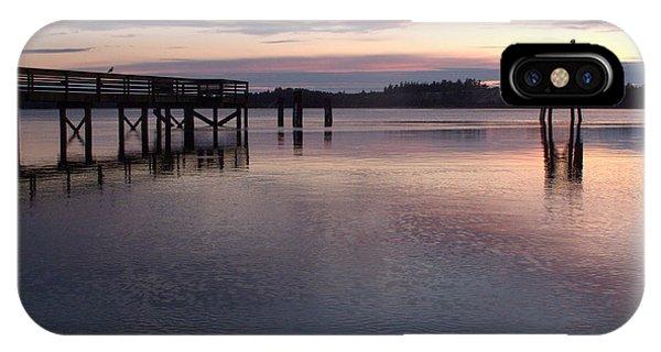 Fishing Dock Pastel IPhone Case