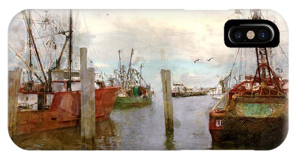 Fishing Fleet IPhone Case