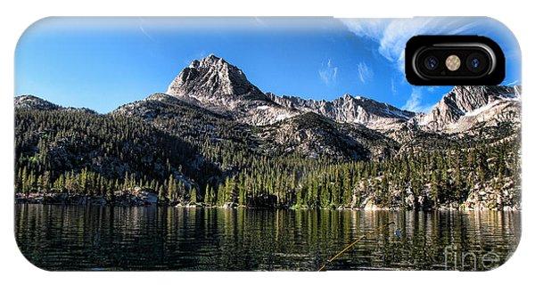 Fishing In Lake Sabrina IPhone Case