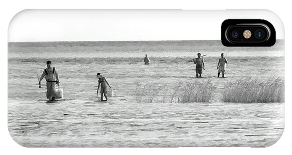 Fishing In The Sound - Outer Banks IPhone Case