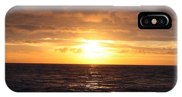 Fishing Into The Sunrise Phone Case by John Telfer