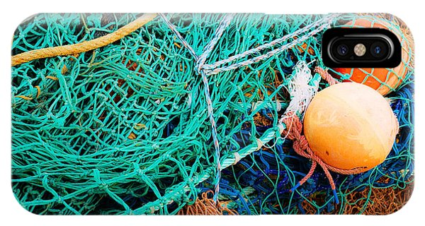 Fishing Nets And Floats IPhone Case
