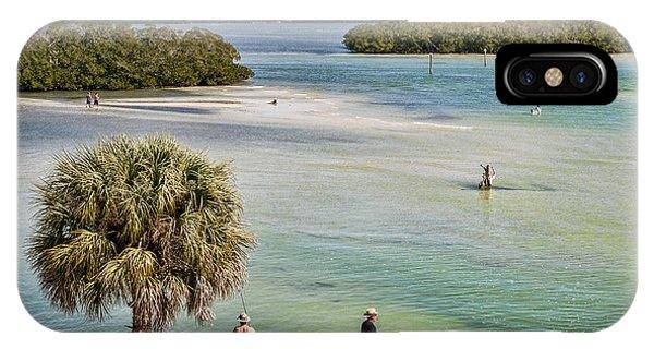 Fishing On Estero Bay Near Fort Myers Beach Florida Phone Case by William Kuta