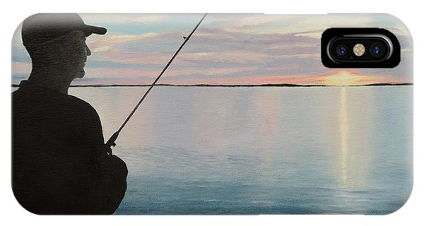 Fishing On The Flats IPhone Case