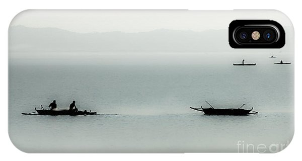 Fishing On The Philippine Sea   IPhone Case