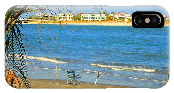Fishing Paradise At The Beach By Jan Marvin Studios IPhone Case
