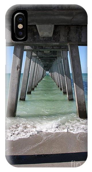 Fishing Pier Architecture IPhone Case