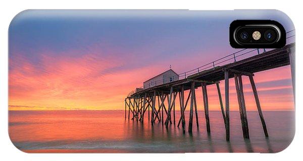 Fishing Pier Sunrise IPhone Case