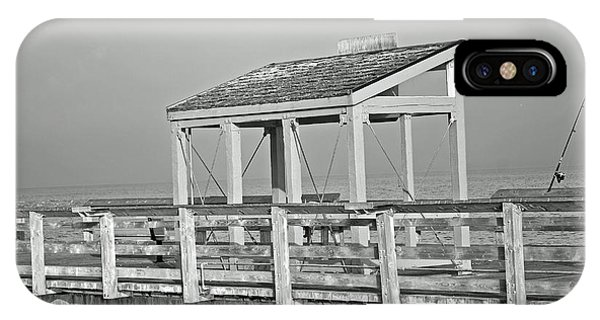 Fishing Pier IPhone Case