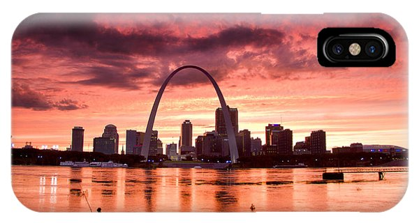 Fishing The Mississippi In St Louis IPhone Case