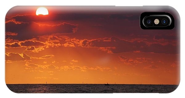 Fishing Till The Sun Goes Down IPhone Case