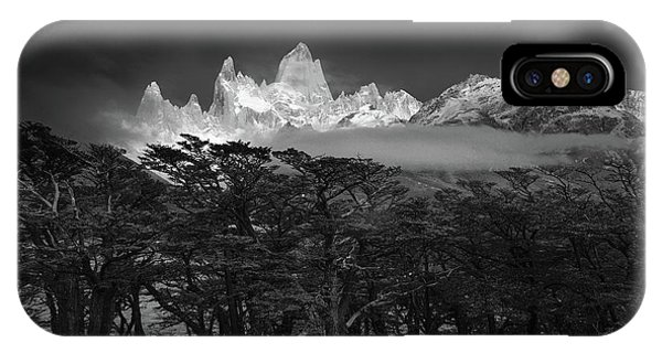 Argentina iPhone X Case - Fitz Roy by Lucian Constantin