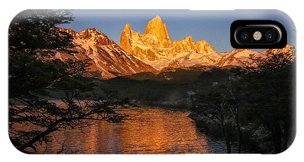 Fitz Roy Massif IPhone Case