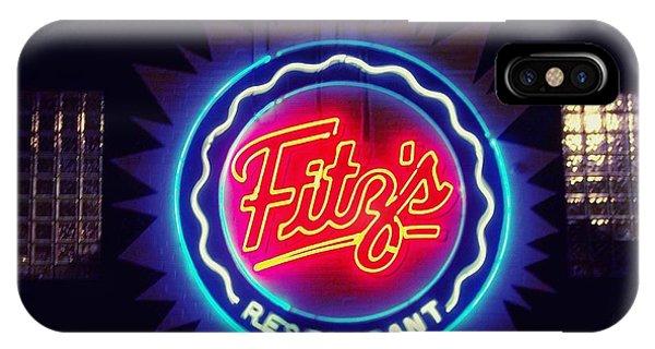 Fitz's Restaurant 2 IPhone Case