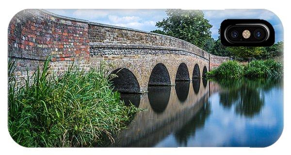 Five Arches Bridge. IPhone Case