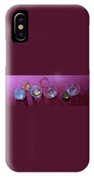 Five Cocktails IPhone Case