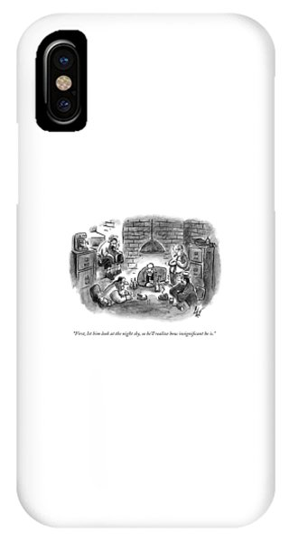 Five Mobsters Meet In A Dim Basement IPhone Case