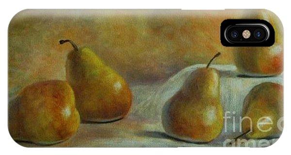 Five Pears Phone Case by Jana Baker