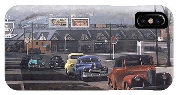 Gamecocks iPhone Case - Five Points - 1948 by Blue Sky