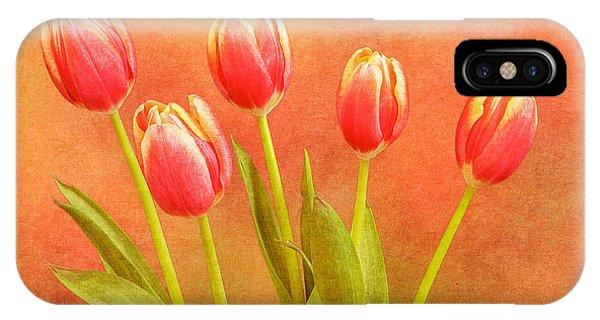 Five Tulips IPhone Case