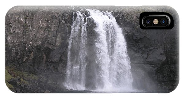 Fjallfoss IPhone Case