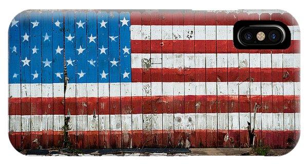 Flag Fence IPhone Case
