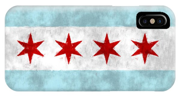 Flag Of Chicago IPhone Case